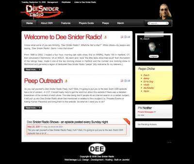 Dee Snider Radio