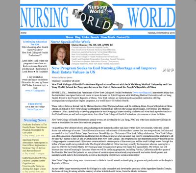 Nursing World
